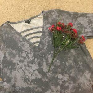 Torrid • Bleached Sweatshirt - Plus Size -